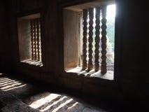 Windows in Angkor Wat in Siem Reap, Cambodia Royalty Free Stock Photo