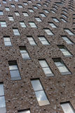 Windows on an apartment building Stock Photos