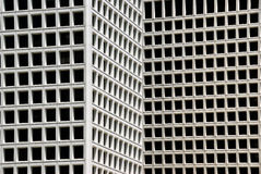 Windows auf modernem Gebäude Stockfotografie