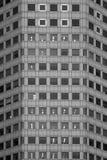 Windows auf modernen Gebäuden Stockbild