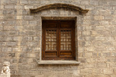 Windows av arkitektur för traditionell kines Royaltyfri Foto
