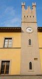 Windows av tornet Arkivbild
