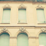 Windows azul Fotografia de Stock Royalty Free