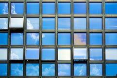 Windows background Stock Photo