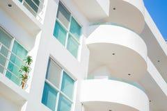 Windows and balconies Stock Photo