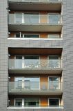 Windows and balconies Royalty Free Stock Photos