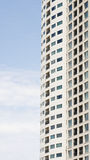 Windows and Balconies on Tall Condo Tower Stock Images