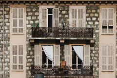 Windows and balcony Royalty Free Stock Image