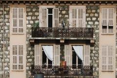 Windows and balcony Royalty Free Stock Image