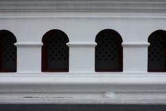 Windows Bangpa-в дворца Стоковые Изображения