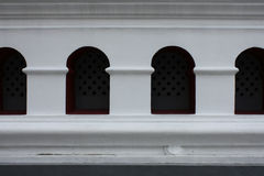 Windows Bangpa-en del palacio Imagenes de archivo