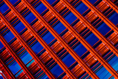 Windows blu Fotografia Stock Libera da Diritti