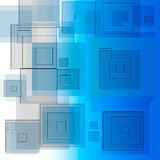 Windows blue   pattern. Colorfull pattern   bokeh   layers  pattern background effect Stock Photo