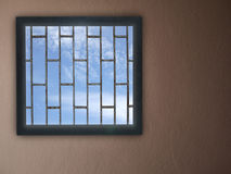 Windows and Blue sky Royalty Free Stock Image