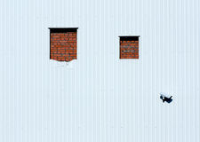Windows bricked up Fotografia Royalty Free