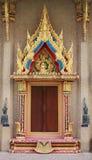 The Windows of Buddha Hall Royalty Free Stock Photos