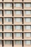 Windows budynku wzór Obraz Stock