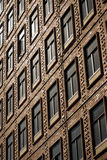 Windows of a building Royalty Free Stock Photos