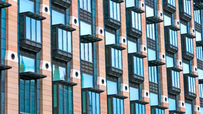 Windows on a building Royalty Free Stock Images
