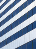 Windows of the building. Windows of the office building in a perspective view Stock Photo
