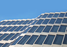 Windows on a building. A background of windows on a modern building Royalty Free Stock Image
