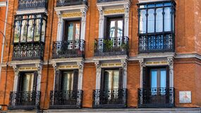 Windows of Building Royalty Free Stock Photography