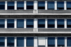 Windows. In building, abstract image of architecture Stock Photo