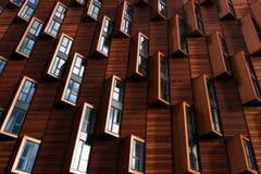 Windows on building facade Royalty Free Stock Photo