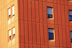 Windows on a building Stock Photography
