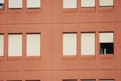 Windows on a building Stock Photo