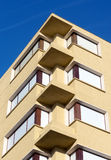 Windows in a building with flats Stock Image