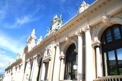Windows  of the building of The Monaco's Casino Stock Photo