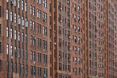 Windows at the building, NYC Stock Photo