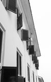 Windows on a Building Royalty Free Stock Photo