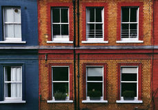 Windows of buildings Stock Images