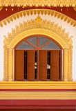 Windows of Burmese temple Stock Photos