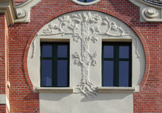 Windows in Bytom. Fotografia Stock Libera da Diritti
