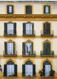 Windows from Cadiz Royalty Free Stock Photography
