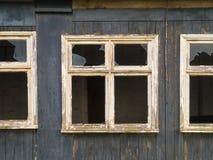 Windows cassé Image libre de droits