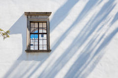 Windows of castle Rozemberk, Czech Republic Stock Photography