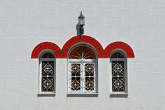 The windows of the church Royalty Free Stock Photography