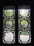 Windows cinese Fotografie Stock