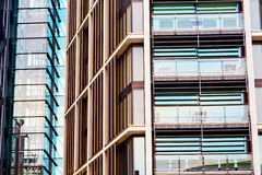 Windows in the city of  home and office   skyscraper  building Stock Photography
