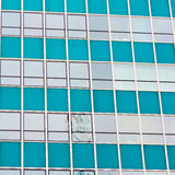 Windows in the city of london home and office   skyscraper  buil Stock Images
