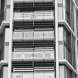 Windows in the city of london home and office   skyscraper  buil Royalty Free Stock Images