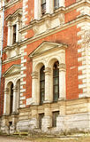 Windows of the classical style building Royalty Free Stock Photos