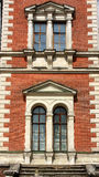 Windows of the classical style building Royalty Free Stock Image