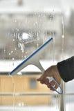 Windows cleaning Zdjęcia Royalty Free