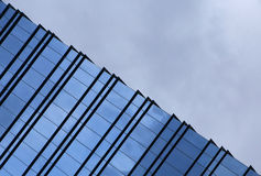 Windows and clouds Stock Photography