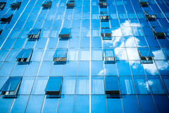 Windows and clouds royalty free stock photo